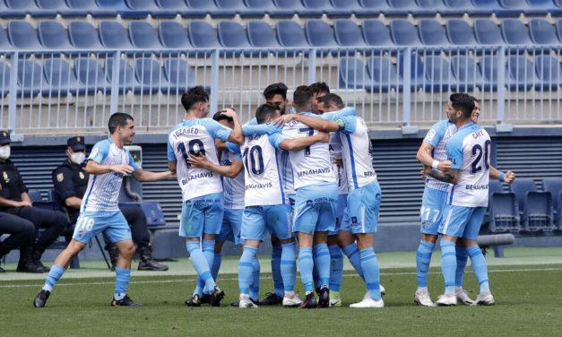 Malaga slog Albacete 2-0 og nåede 48 point