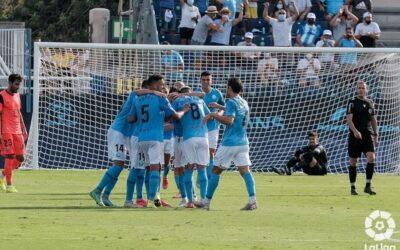 1 point, også i 2. runde, ude mod Ibiza (2-2)